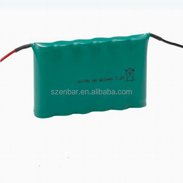 Power tools battery AAA 600mAh 7.2V Rechargeable Ni-Mh Battery Pack
