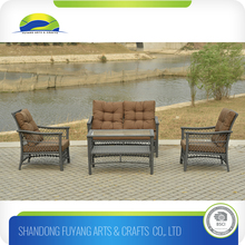 popular for the indoor furniture pe Rattan Sectional Sofa