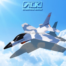 New design drone F-16 Fighting Falcon 6CH Electric large EPS foam RC aircraft for wholesale