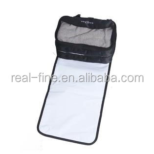 Extra Large Diaper Changing Station for Travel or Twins features a large changing mat