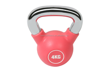 Competition Rubber Kettlebell With Chrome Handle 40 KG