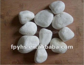 snow white stone chippings