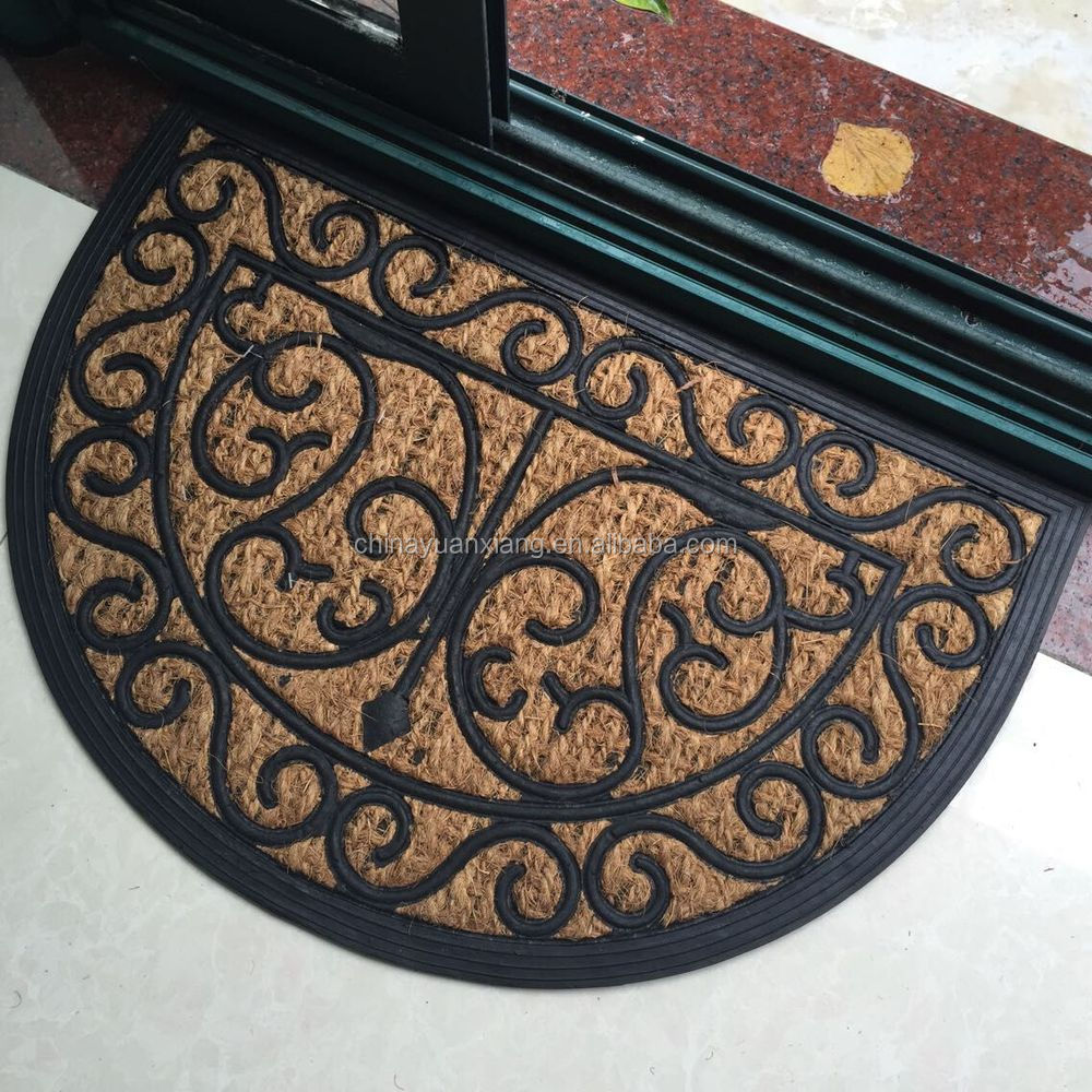 Entrance Brush Rubber Coir Mats For Walmart Target Aldi