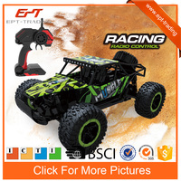 2.4g professional rc high speed racing car with big wheel