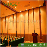 Exhibition design decorative movable sound proof partition wall