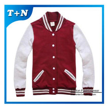 Custom the most popular100% polyester durable varsity wholesale baseball jackets