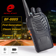 Z 005 Element Two Way Radio BF-888S Walkie Talkie 5W Handheld Pofung bf 888s UHF 400-470MHz 16CH Two-way Portable CB Radio