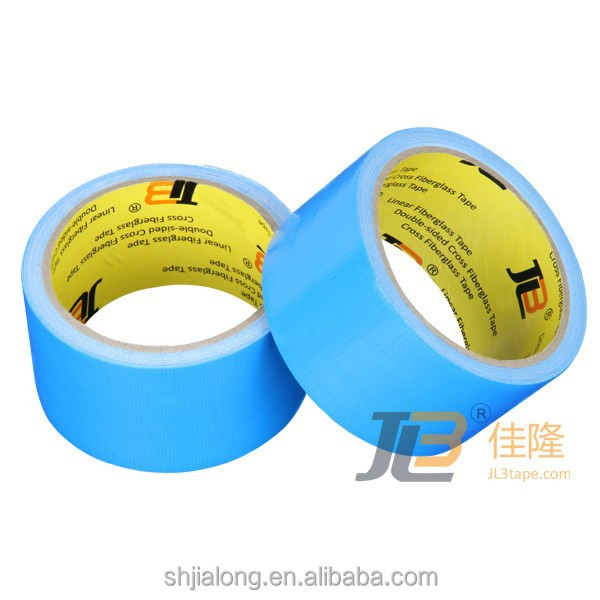 JL-8380 high quality strong adhesive cloth mesh duct fiber tape