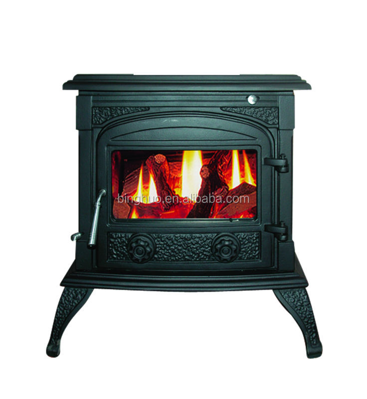 Cast Iron Wood Burning Stoves 11KW For Sale