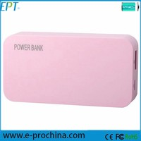 New arrival cheap price prefume design power bank water powered mobile charger (EP022-2)