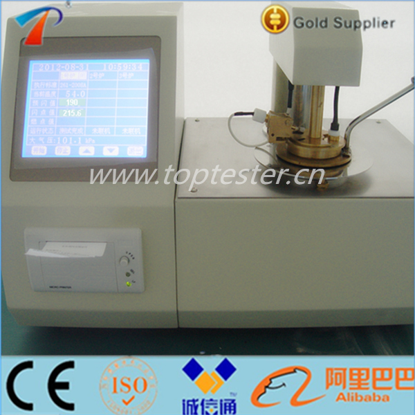 Oil Test Kit,Open Cup Flash Point Test,Flash Point Testing Equipment