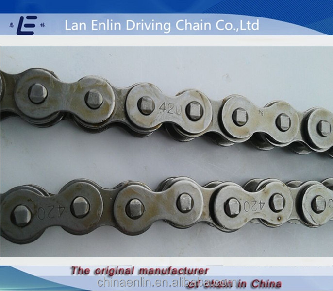 blue color 420-124L motorcycle chain