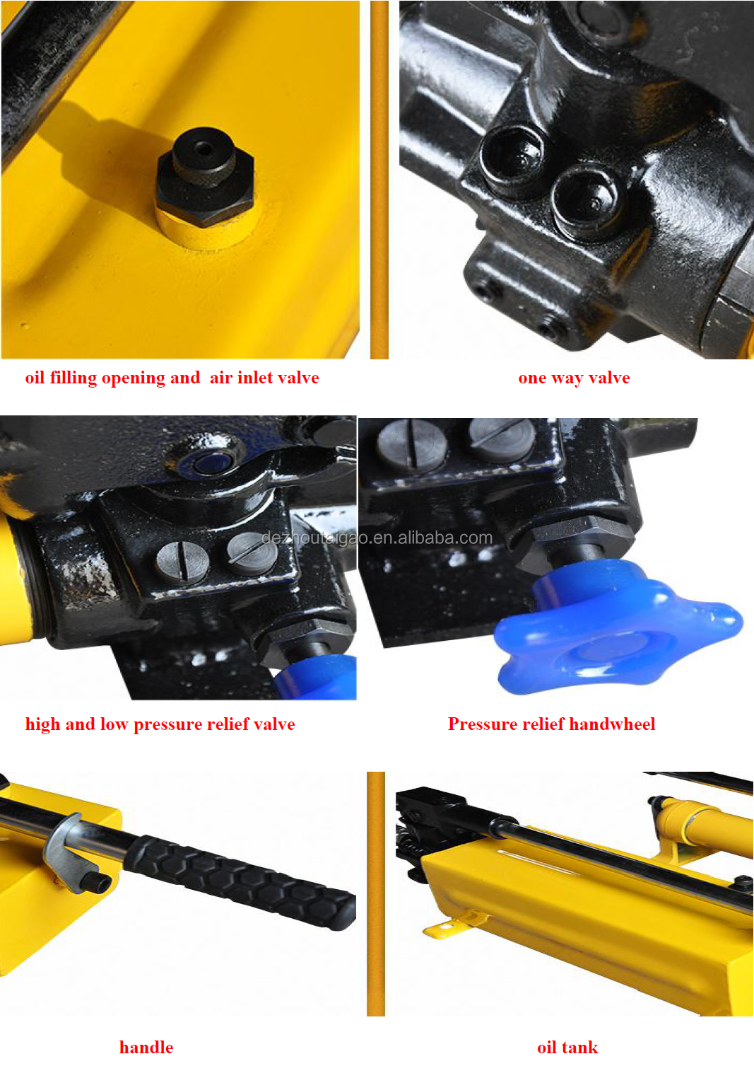 Hot selling hydraulic manual hand pump ,hydraulic oil hand pump, hand hydraulic Pump