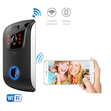 New model ip wireless wifi camera video door bell phone,smart wireless wifi video doorbell camera