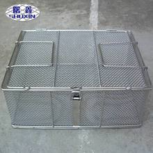 Chinese Supplier stainless steel crimped mesh perforated mesh welded wire mesh medical sterilization basket