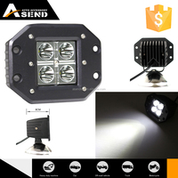 auto led lighting New 3inch 16w led work light Spot Beam Offroad Lamp flood beam