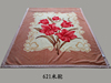 Hot selling Double bed polyester Use 100%polyester King Size superior blanket