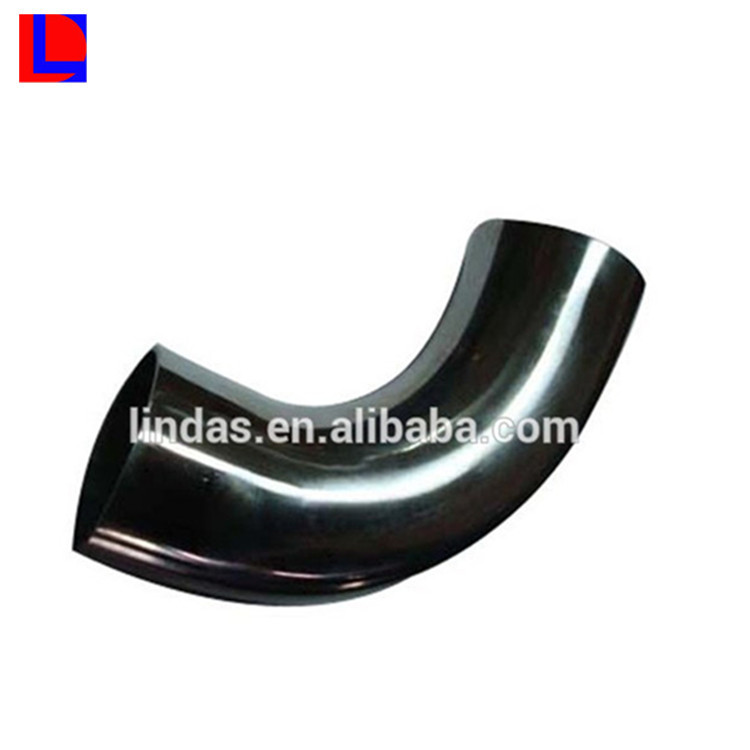 Black powder coated aluminium extruded round bending pipe