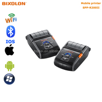 BIXOLON SPP-R200II mini portable label printer with IOS bluetooth,wifi wireless for iphone and android phone