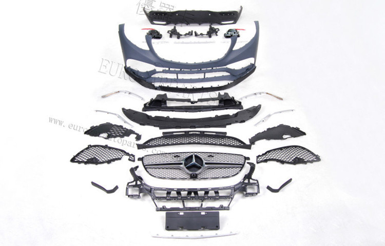 GLE63 coupe body kits fit for MB GLE-class GLE300 GLE350 GLE400 GLE450 coupe to GLE63 coupe style body kits for GLE coupe