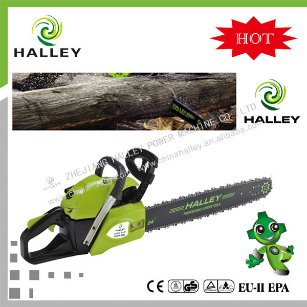 "Popular 62cc chainsaw 365 with 20'' 22'' 24"" guide bar"