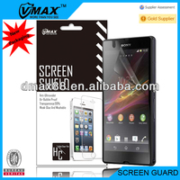 Made in japan mobile phone screen protector for Sony xperia z oem/odm