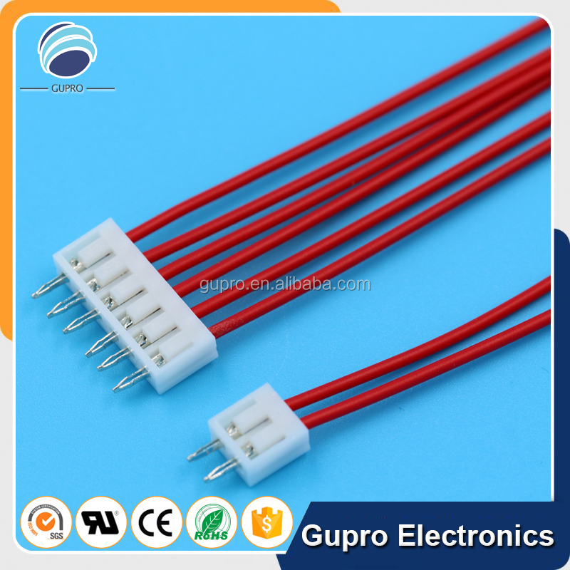 OEM 6pin pcb board wiring harness 2.5mm pitch SCN wire connector harness wiring for machine