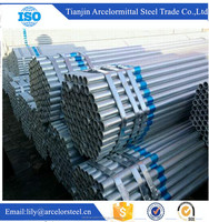 world best selling products 8 inch schedule 40 galvanized steel pipe/Q235 galvanized steel pipe made in china on allibaba com