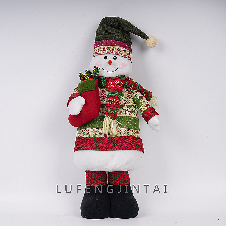 Santa Claus doll Christmas Interior Decoration