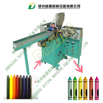 Commericial School Wax Crayon Wrapping and labeling machine for sale