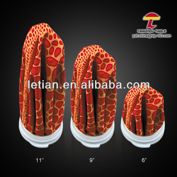 orange animal skin pattern medical insulated ice bag