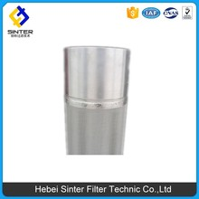 5-layer sintered mesh stainless steel double open filter cartridge or hydraulic oil filter