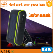 Fashion solar polymer power bank for samsung/iphone mp3 best selling for Chritmas gift solar charger with LED light