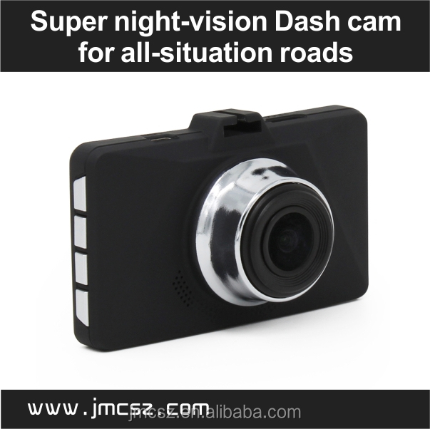 2017 World's First 1080P night vision dash camera with clear videos in pure dark