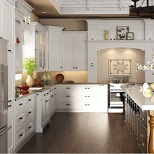 Modular Solid Wood Kitchen Cabinets Fitted kitchen Design