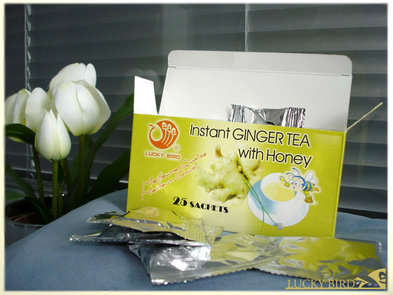 Instant Tea Ginger Tea with Honey
