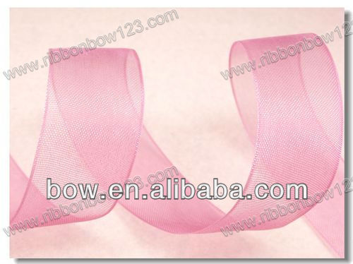 Nylon sheer baby ribbon for dress