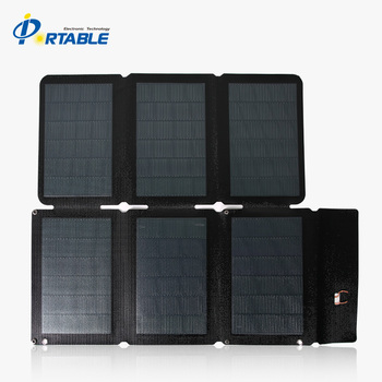 2019 hot sale high efficiency  cigs flexible solar panel  18v 36w for laptop/big battery for travel/camping