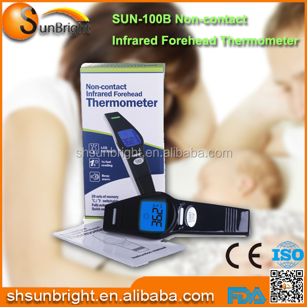 Infrared Thermometer/ Electronic Digital Thermometer/ Non contact infrared forehead thermometer