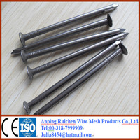 Round Head Black Iron Common Nails / wire nails/ Roofing nails from China factory