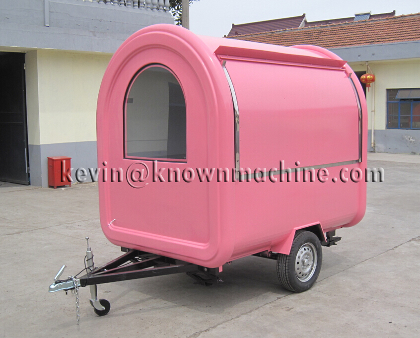 Big discount supply the high quality of food trailer, mobile food cart