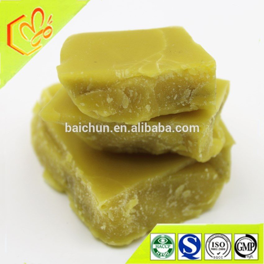 China beeswax yellow beeswax wax stamping for bee