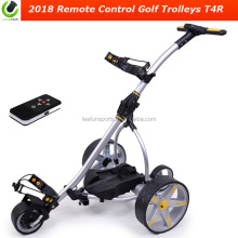 2018 remote control golf trolley Golf Cart including 400w double motors .electric brake system .36 holes battery .LCD Display