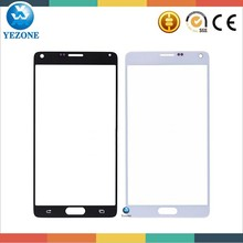 Cellphone Spare Parts For Samsung Galaxy Note 4 Front Glass , Touch Glass For Samsung Galaxy Note 4 ,Note 4 Outer Glass Lens