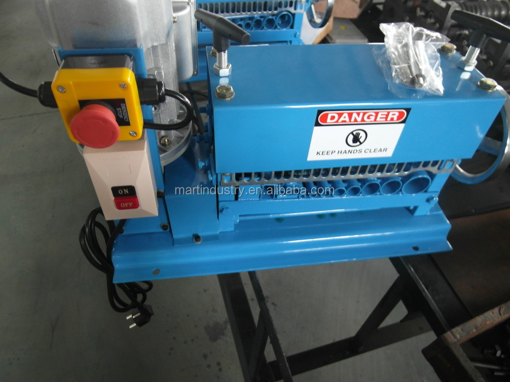 Industrial machinery copper scrap cable stripper/electric wire stripping machine