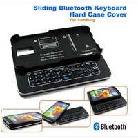 New arrival Ultra-thin Slide-out mini wireless bluetooth keyboard for Samsung S5