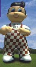 2015 hot sale giant inflatable animal for advertising, inflatable big boy