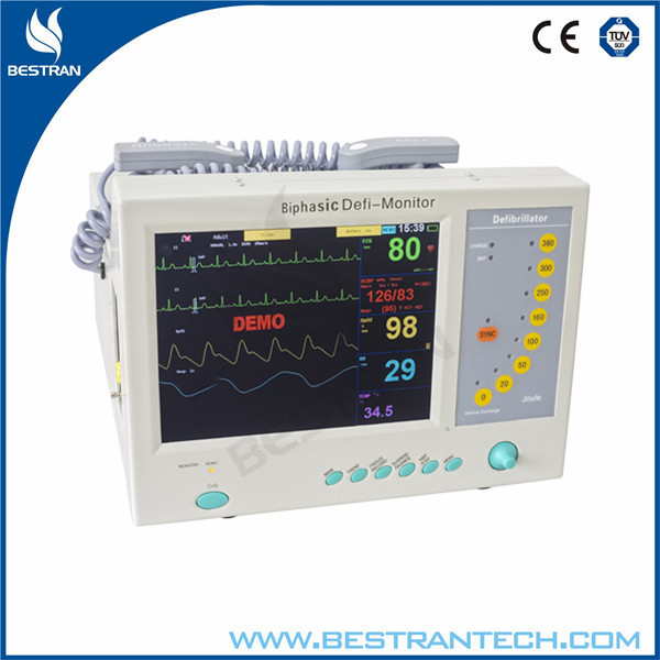 China BT-8000B Medical equipment/ hospital cardiac biphasic defibrillator monitor for sale