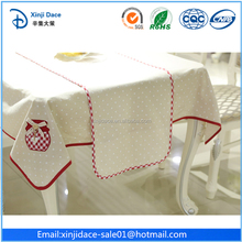 Alibaba good quality modern design fabric painting designs on table runner