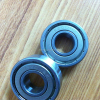 good quality chrome steel single row ball bearing for ceiling fan